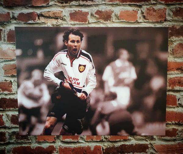 Image of Ryan Giggs FA cup semi final