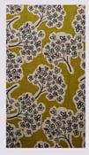 Image of Tissu: Pommiers en fleurs ...