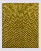 Image of Tissu: Chevron lainage moutarde