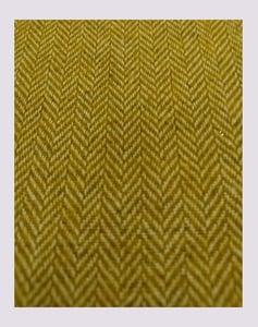 Image of Tissu: Chevron lainage moutarde