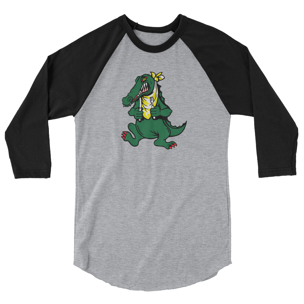 Alligator - Unisex Jersey Raglan Tee