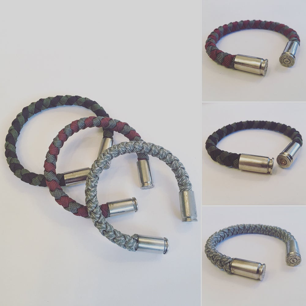 Image of KMP 'BULLETZ' 9mm Paracord bracelet