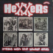 Image of OUT NOW. LP. Hexxers : Freaks With The Savage Beat.  Ltd Edition.
