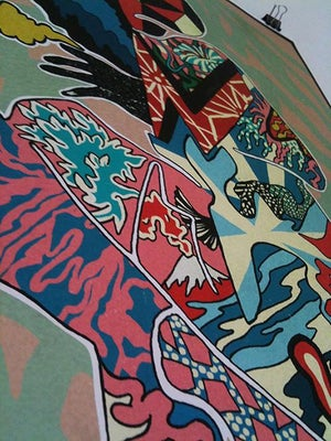 Image of 'Azumi' // Giclee print