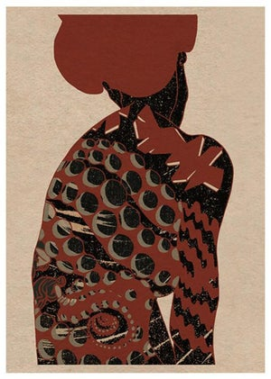 Image of 'Shinryaku' // Giclee print