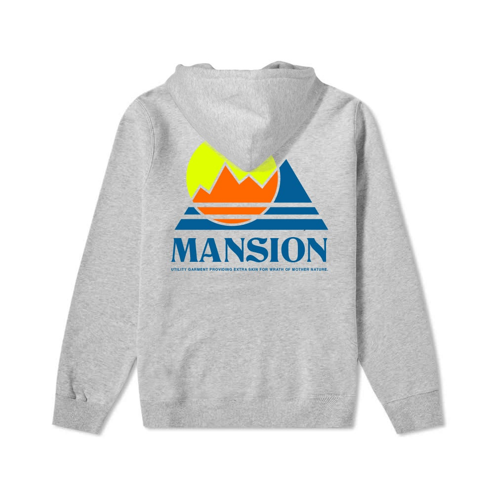 Image of Grey Mansion Mountain Hoodie