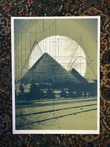 Image of Pyramid Art Print
