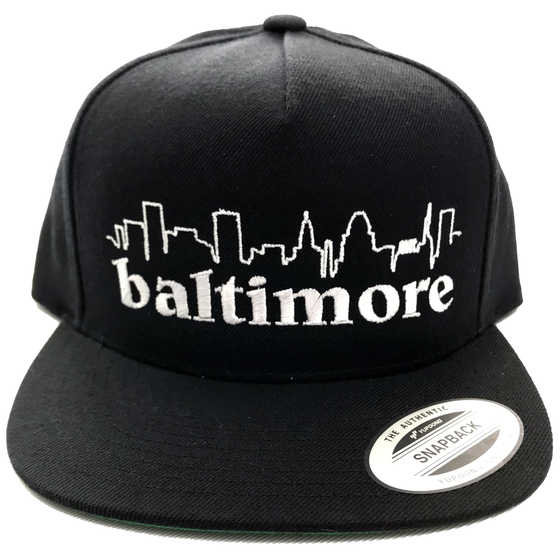 Image of Baltimore Skyline Snapback
