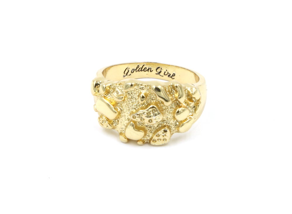 Image of Golden Girl Nugget Ring