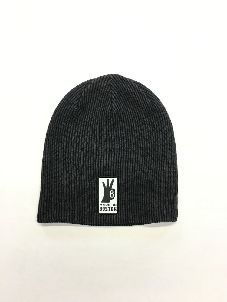 Image of Rib Knit Slouch Beanie
