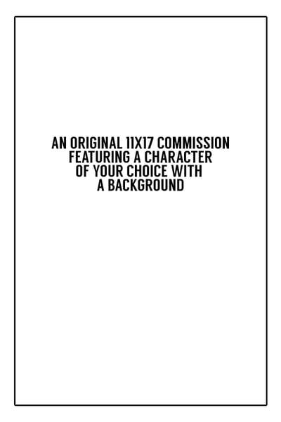 Image of Original 11x17 Commission