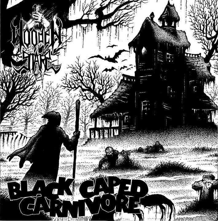 "Image of WOODEN STAKE ""Black Caped Carnivore"" 7"" EP"