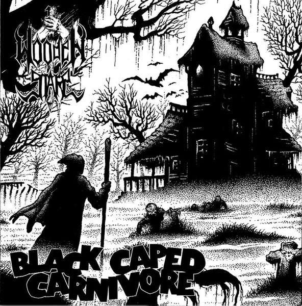"""Image of WOODEN STAKE """"Black Caped Carnivore"""" 7"""" EP"""