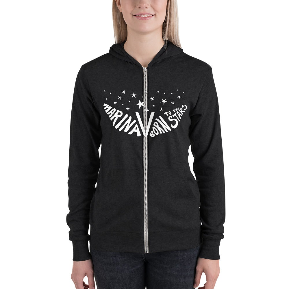 Image of BORN TO THE STARS Triblend Unisex Hoodie
