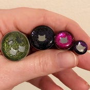 "Kitty Glitter Plugs (sizes 0g-2"")"