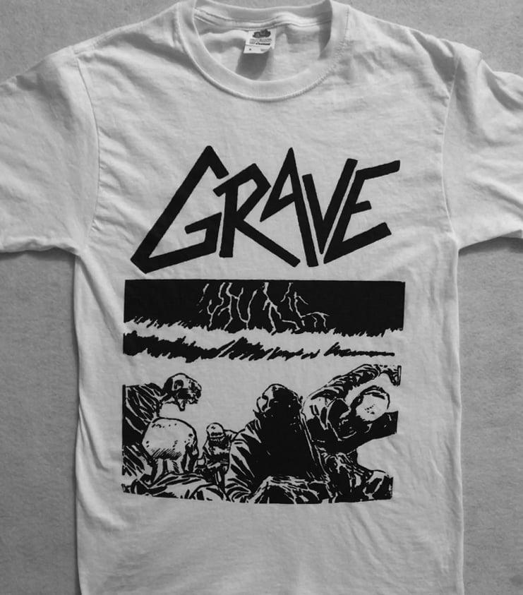 "Image of Grave "" Sick Disgust Eternal "" T shirt"