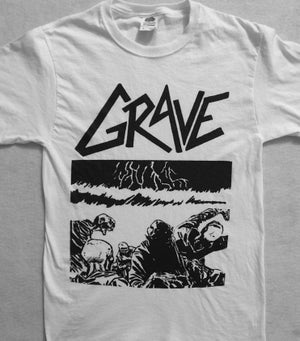 "Image of Grave "" Sick Disgust Eternal "" T shirt"