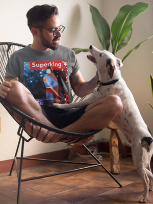 Image of Superking Reings Supreme (Royal Blue or Royal Red, Amercian Apparel)
