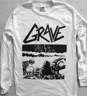 "Image of Grave "" Sick Disgust Eternal "" Long Sleeve T shirt"