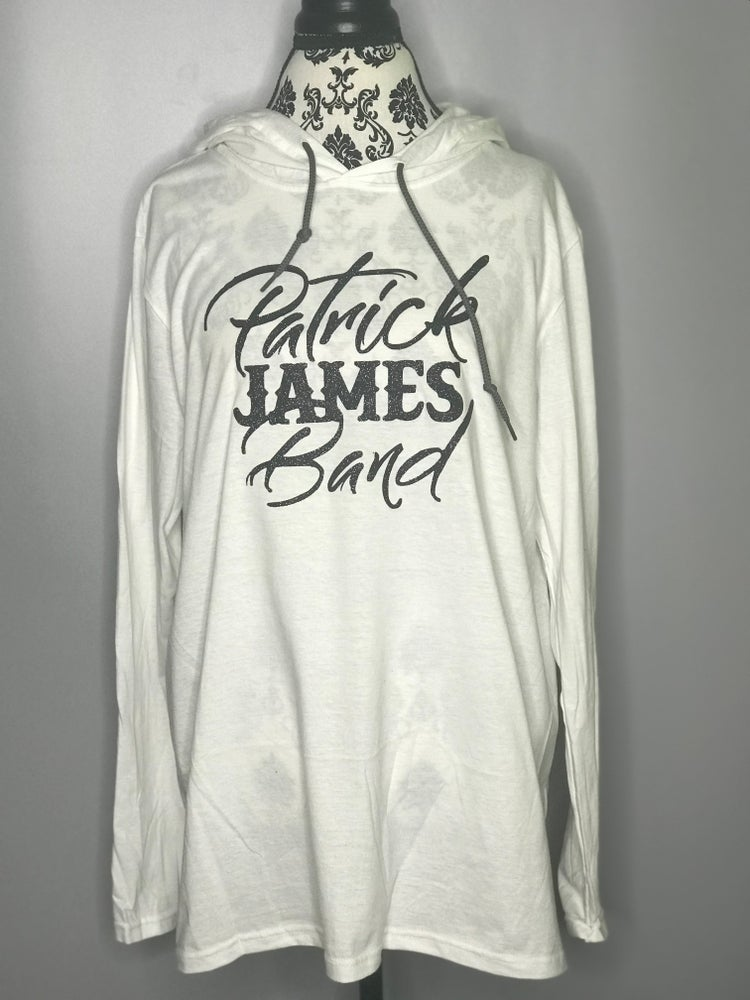 Image of Limited edition White hooded top