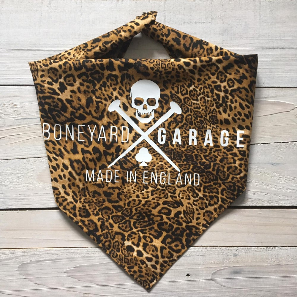 Image of Leopard print bandana