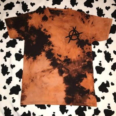 Image of Acid Wash Anarchy T-Shirt (Black)