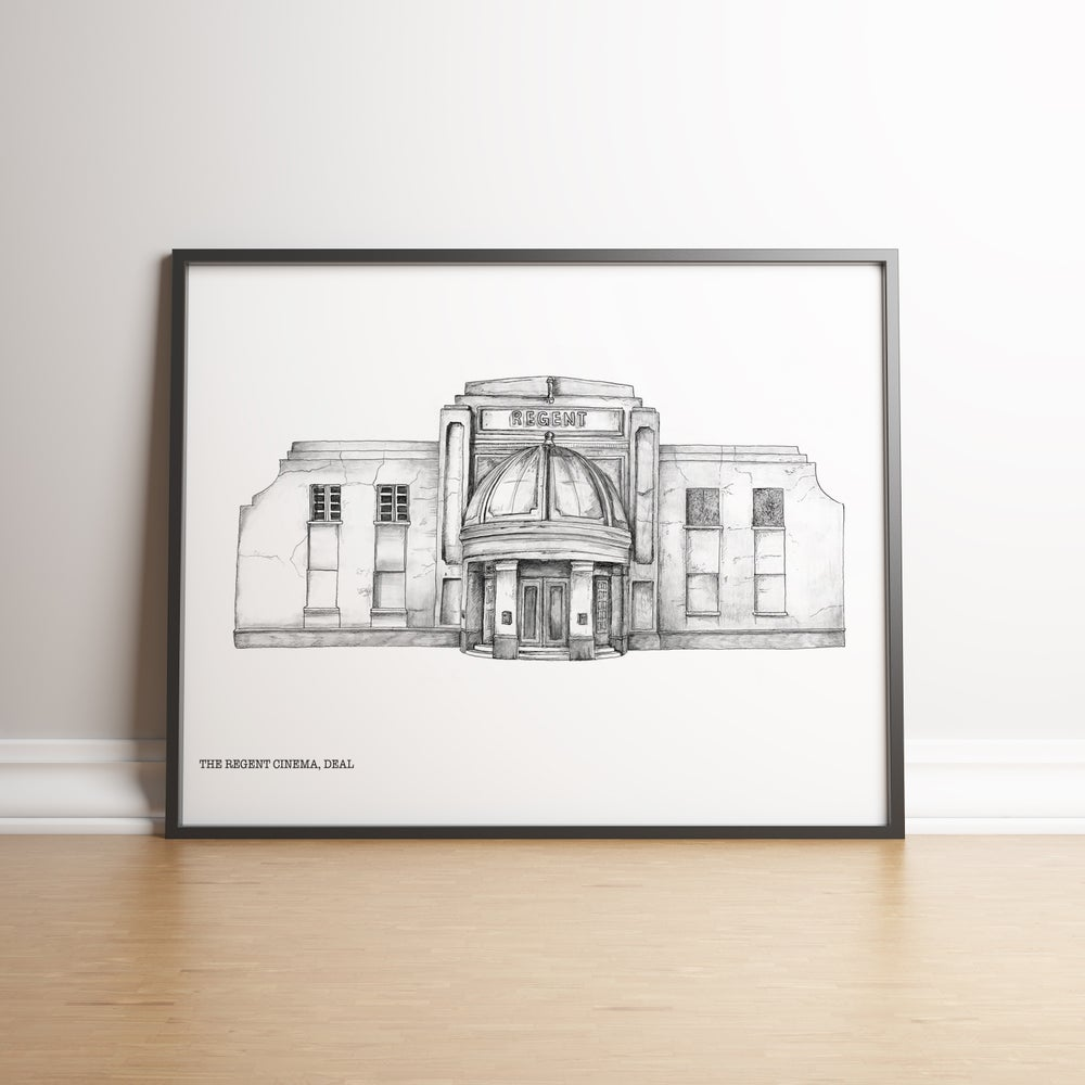 Image of The Regent Cinema, Deal - limited edition print