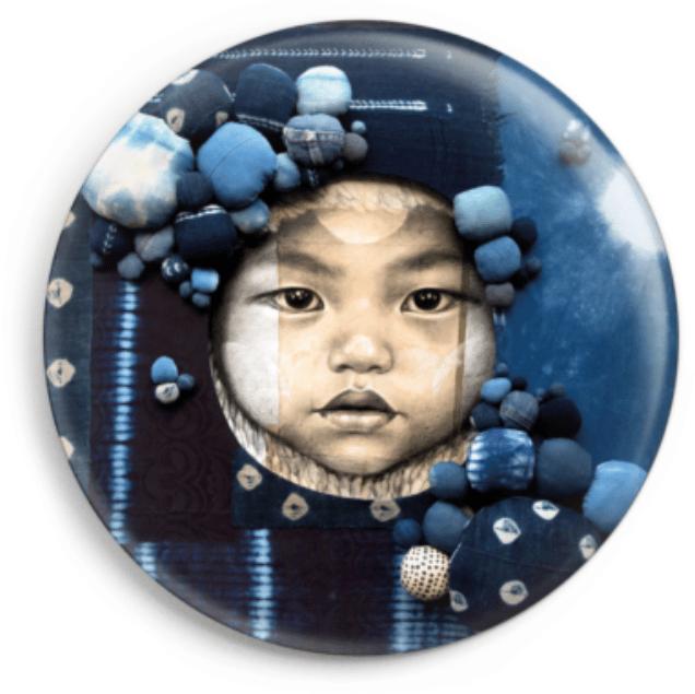 """Image of Magnet - """"Indigo baby"""""""