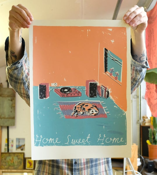 Image of 'Home Sweet Home' Print