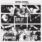 Image of CHAIN REACTION / SPARK split EP - Clear Wax