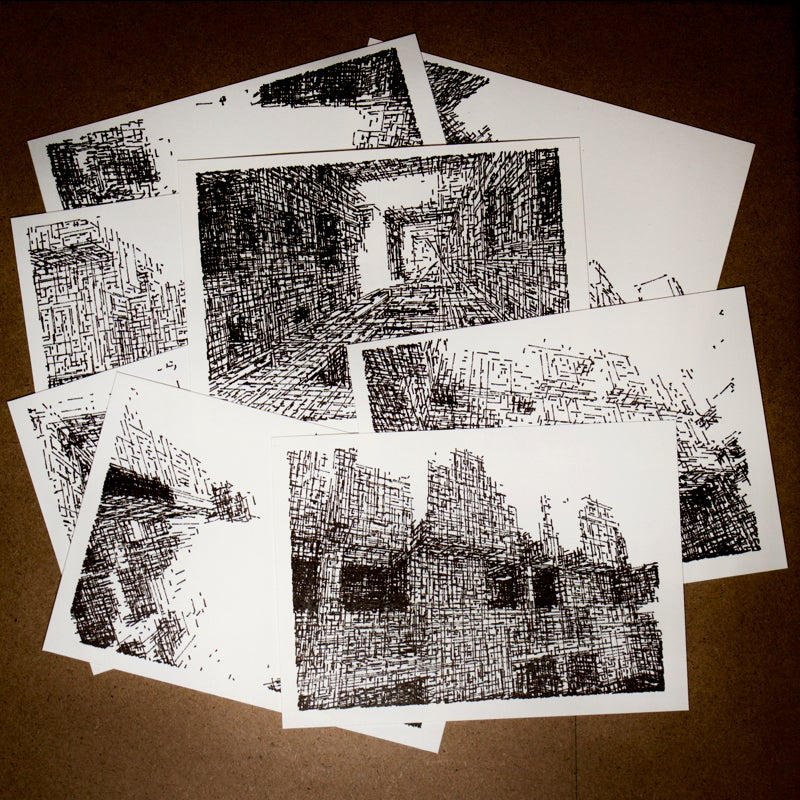 Image of BRUTAL: set of postcards