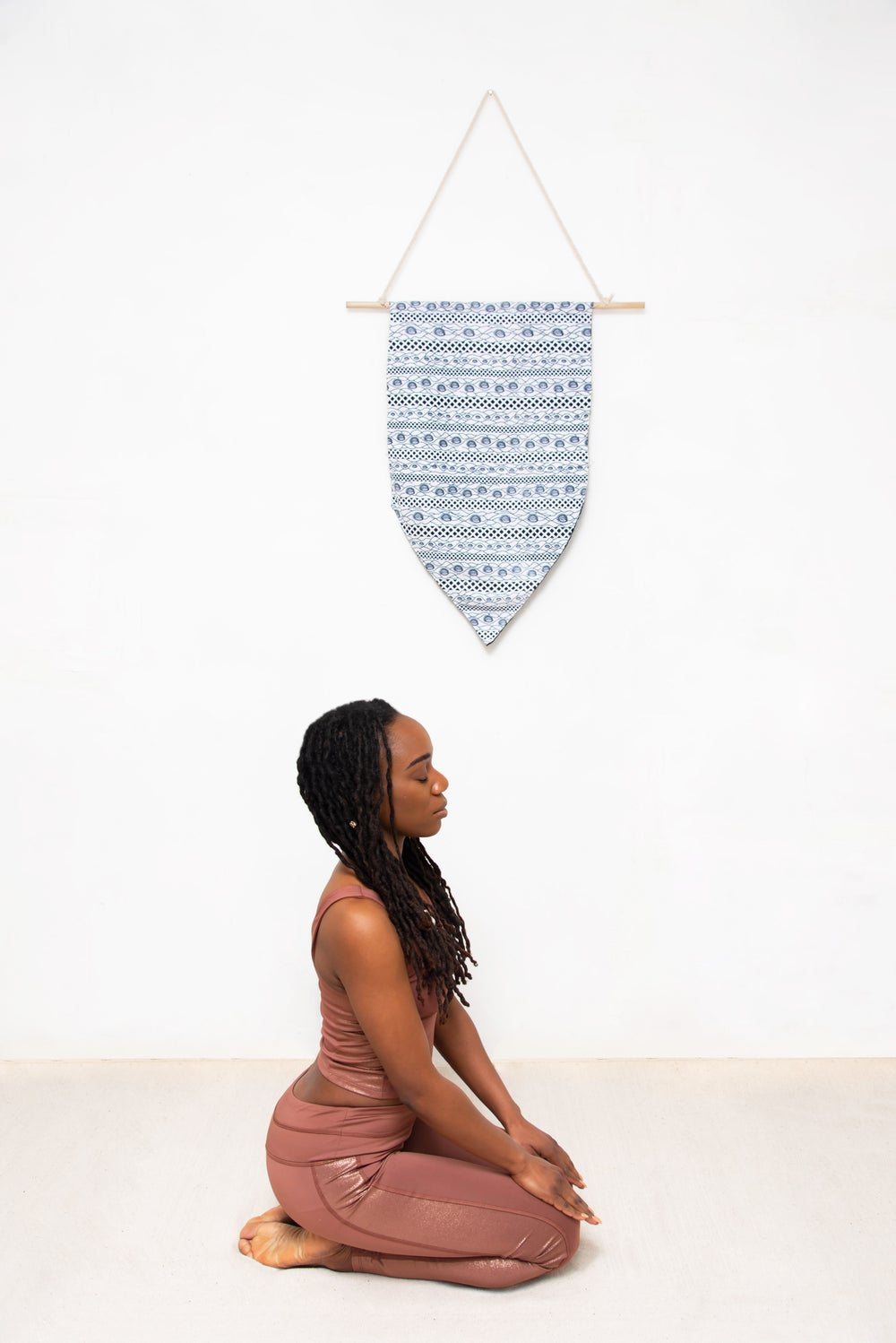 Image of i-within afrohemian wall hanging (white)