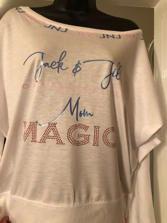 Image of Jack and Jill Mom Magic Off Shoulder Long Sleeve Shirt