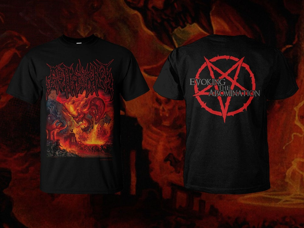 Image of ABHORRENCE - Evoking The Abomination Single Package (SS and LS) - Bundle Package (SS/LS + Tape)