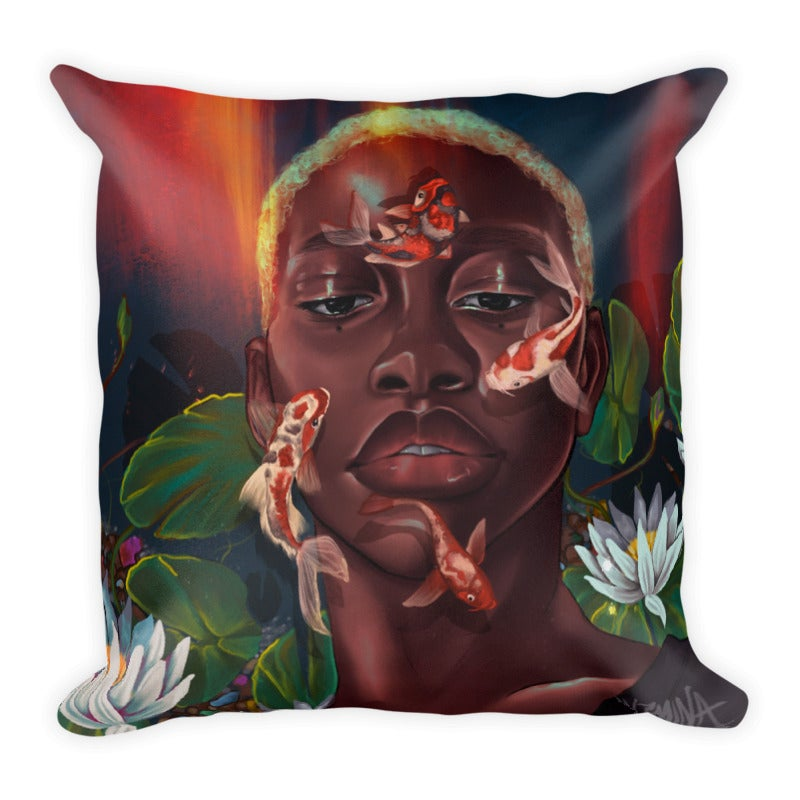 "Image of ""Koi"" Pillow"