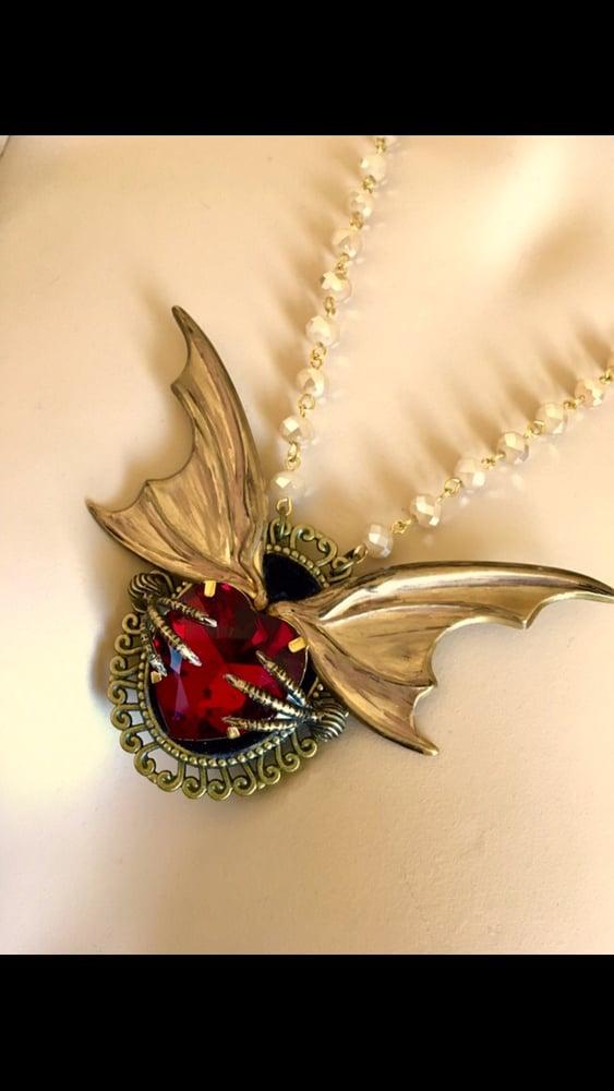 Image of Neo Victorian Vampire Necklace