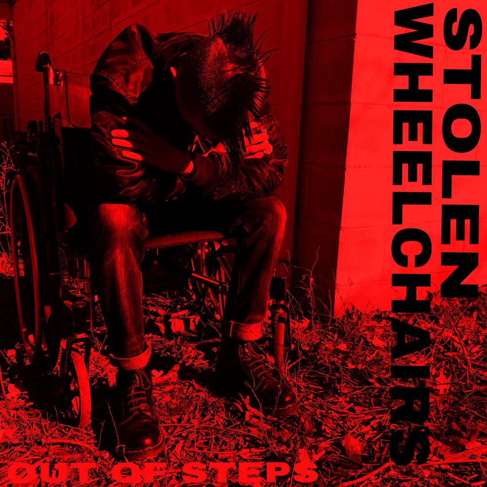 Image of Stolen Wheelchairs - Out of Steps CD (NEW STATE LINE RELEASE)