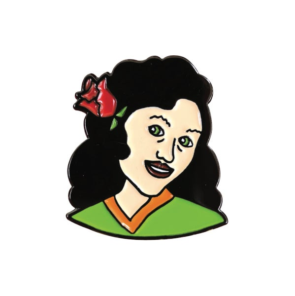 "Image of ""Rose Lady"" Pin"