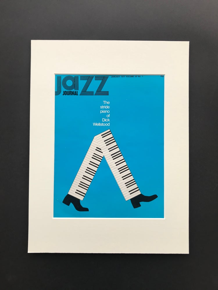 Image of Jazz Journal Magazine January 1977 'The stride piano of Dick Wellstood'