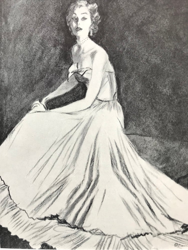 Image of Vogue 1952 Pierre Mourgue Illustration