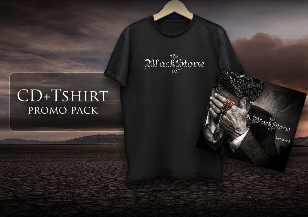 "Image of ""BETRAYED"" + 1 TBSC Tshirt  SPECIALPACK"