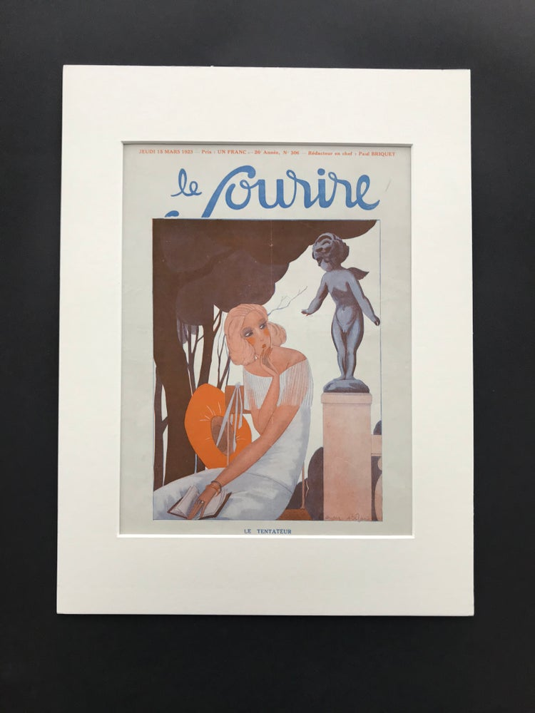 Image of Le Sourire Cover illustrated by Andre Stefan 1923
