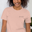 Image 2 of Free Indeed Embroidered Tee - Blush