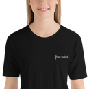 Image 2 of Free Indeed Embroidered Tee - Black