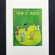 Image of Original New Yorker Cover August 1987 illustrated by Charles Saxon