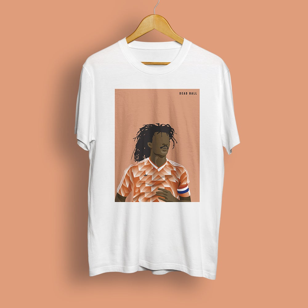Image of 6 Yard Box Tee - Gullit '88 (white)