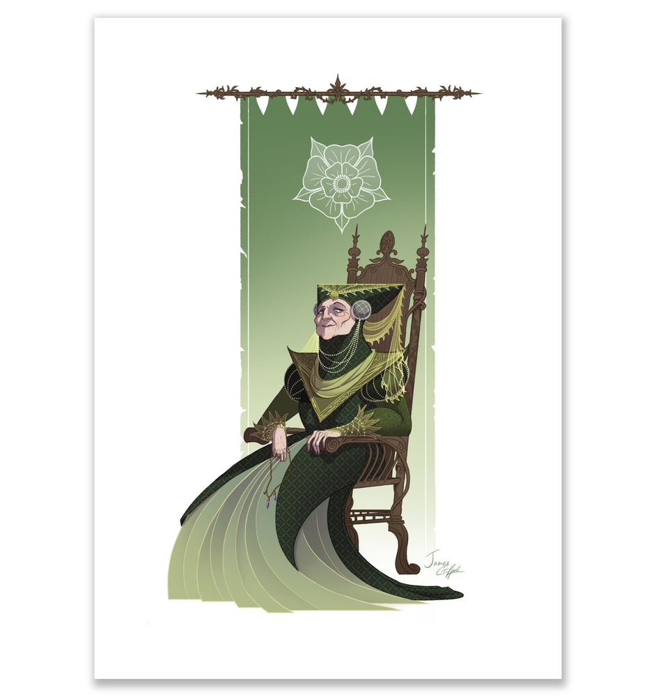 Image of Game of Thrones - Lady Olenna Print.