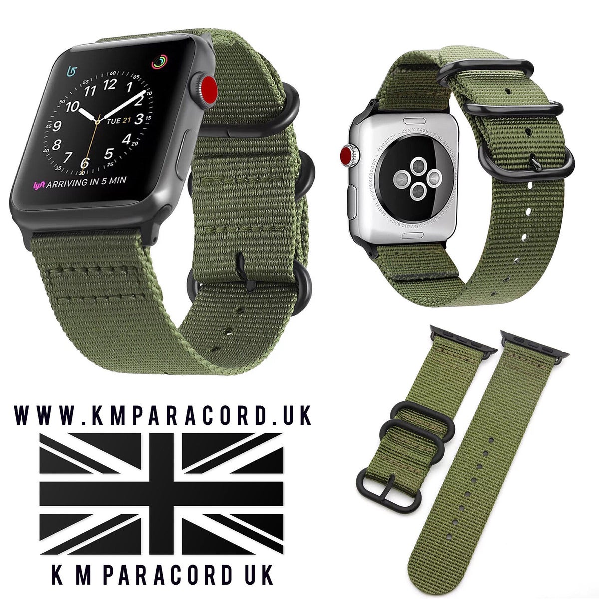 Image of KMP Apple Watch 'NATO' strap