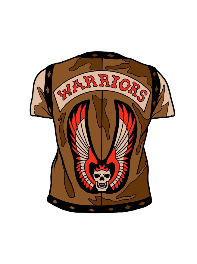 Image of Warriors Vest by Joshua Kelly (Pin & Rogues Vest Sticker)