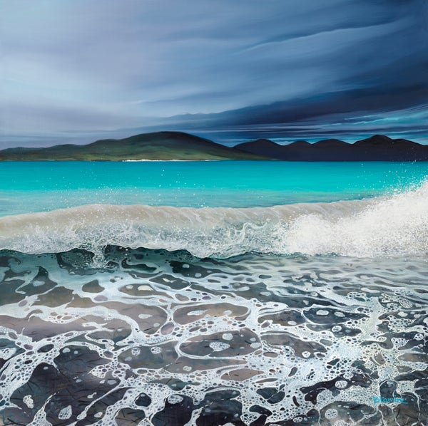 Image of Seilebost wave giclée print ALL sizes